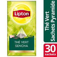 Lipton Exclusive Selection Thé Vert Sencha 30 sachets pyramide