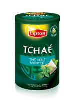 Lipton Thé Vert Menthe Tchaé 25 sachets pyramides