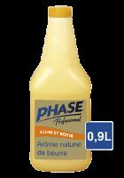 Phase Professionnal Liquide Végétal à l'Arôme Naturel de Beurre 0.9L