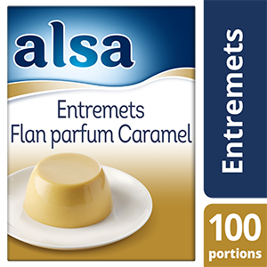 Alsa Entremets-Flan au Caramel 1,05kg 100 portions