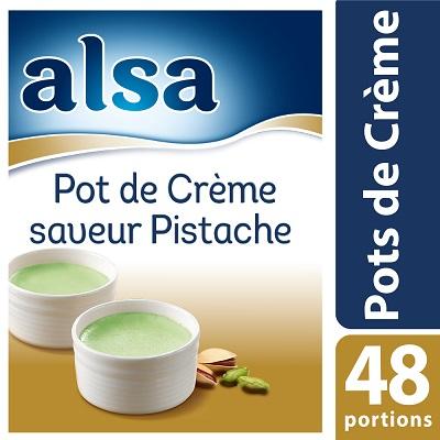 Alsa Entremets-Flan Parfum Pistache 830g 100 portions