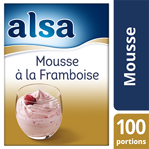 Alsa Mousse à la Framboise 860g 100 portions