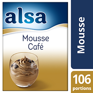 Alsa Mousse au Café 1kg 106 portions