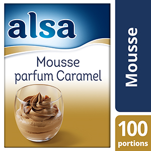 Alsa Mousse au Caramel 1kg 100 portions