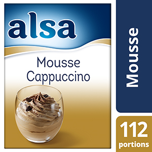 Alsa Mousse Cappuccino 820g 112 portions
