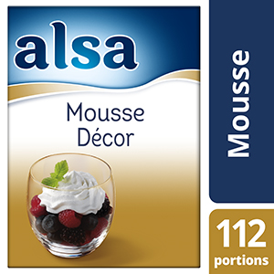 Alsa Mousse Décor 800g 112 portions
