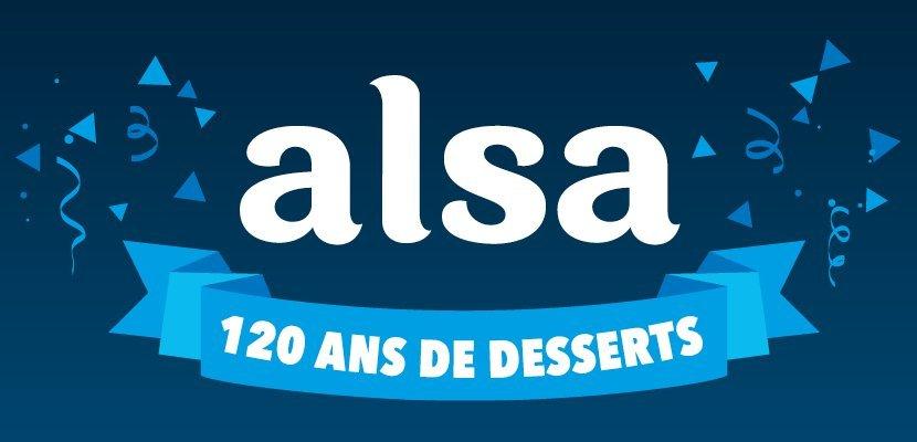 Alsa Pot de crème façon Cheesecake 800g 48 portions - Alsa, la marque française de desserts depuis 1897
