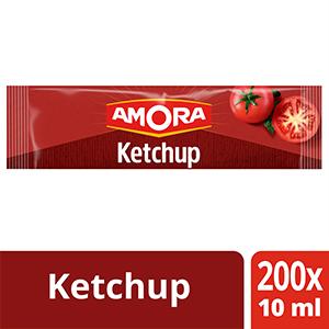 Amora Ketchup - Carton de 200 Dosettes de 10ml -