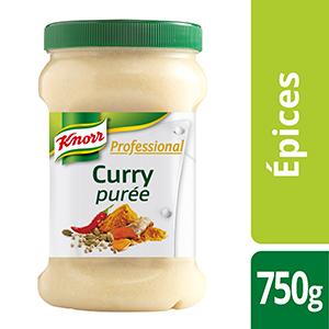 Knorr Professional Purée de curry 750g - Des recettes développées en partenariat avec le chef étoilé Bruno Oger, pour vous donner la garantie du meilleur goût.