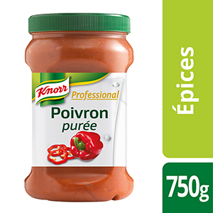 Knorr Professional Purée de poivron Pot 750g