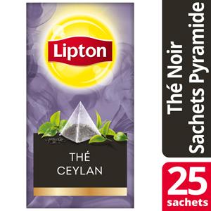 Lipton Exclusive Selection Ceylan Noir sachets Pyramides -