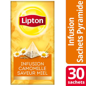 Lipton Exclusive Selection Infusion Camomille Miel 30 Sachets Pyramide