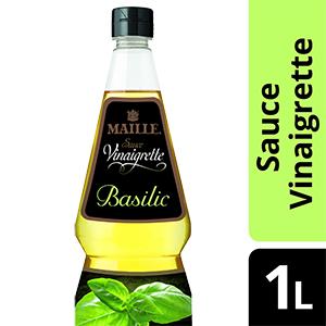 Maille Sauce Vinaigrette Basilic 1L