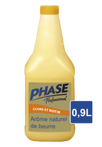 Phase with natural Butter Flavour Bouteille 0.9 l