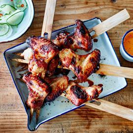 Ailes de poulet BBQ de Kuala Lumpur