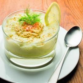 Cassolette de Fruits de Mer au Curry ( Texture Modifiée )