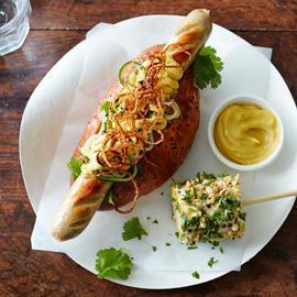 Hot dog style marocain