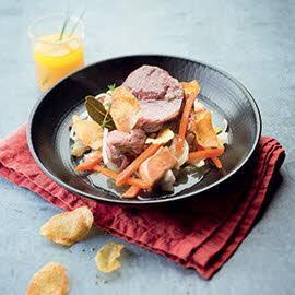 Le Baeckoeffe Alsacien et foie gras