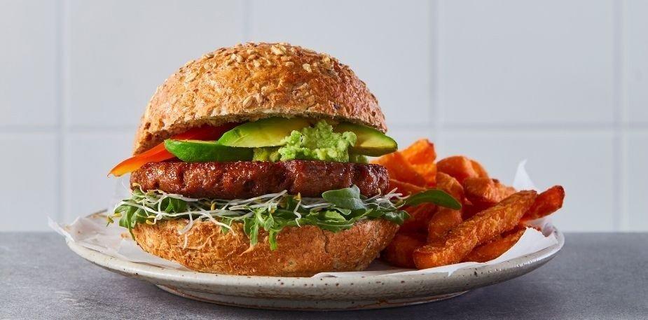 Avocat Burger et de patates douces – Recette