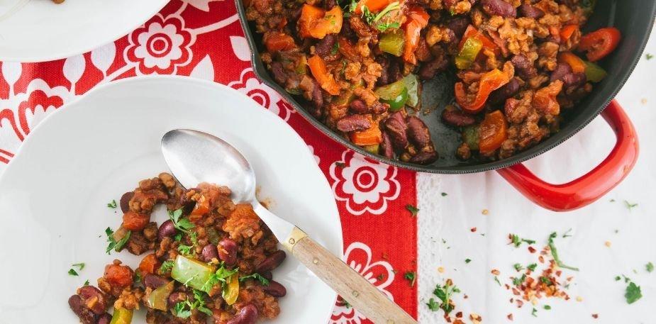Chili sin carne – Recette