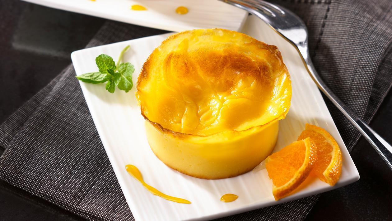 Flan vanille citron façon fiadone – Recette