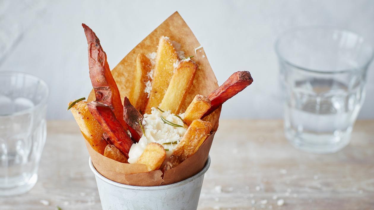 Frites bistronomiques – Recette
