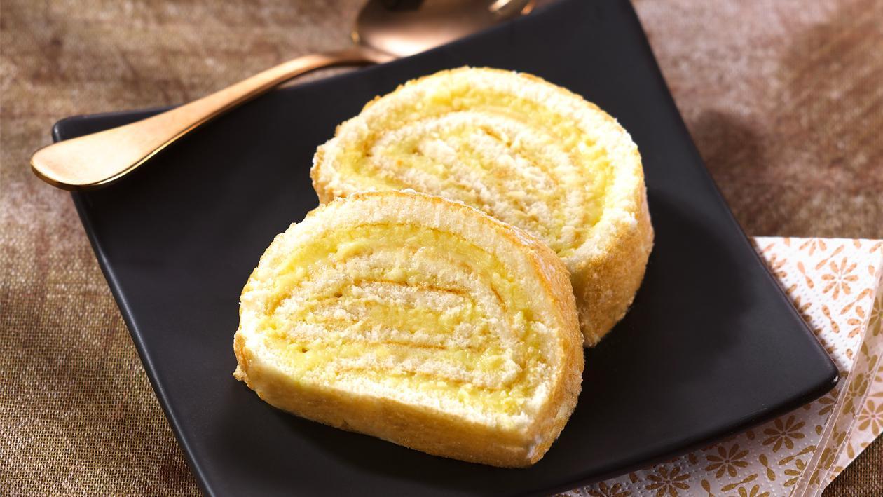 Gâteau roulé façon bras de Vénus – Recette