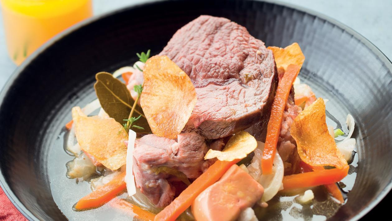 Le Baeckoeffe Alsacien et foie gras – Recette