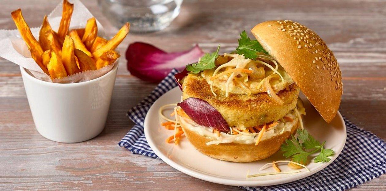 Le burger des vikings – Recette