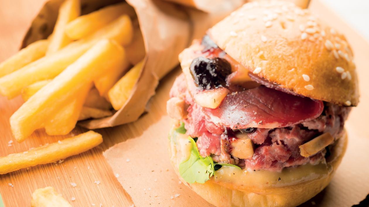 Le Burger Landais – Recette