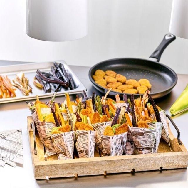 Mini panés sauce aigre douce – Recette
