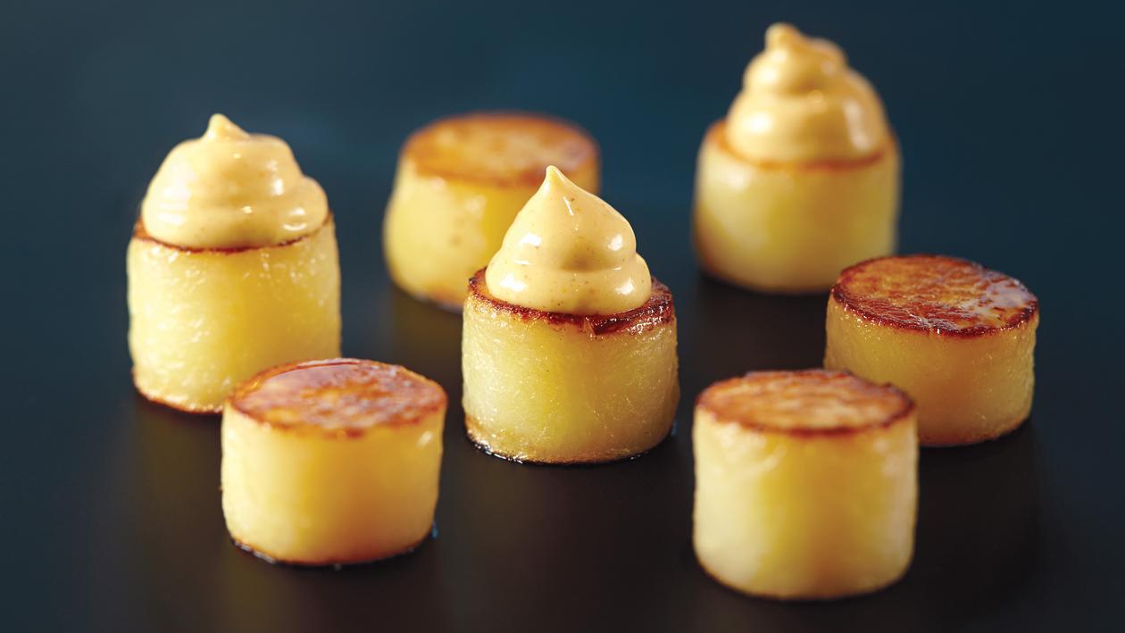 Pommes de terre confites – Recette