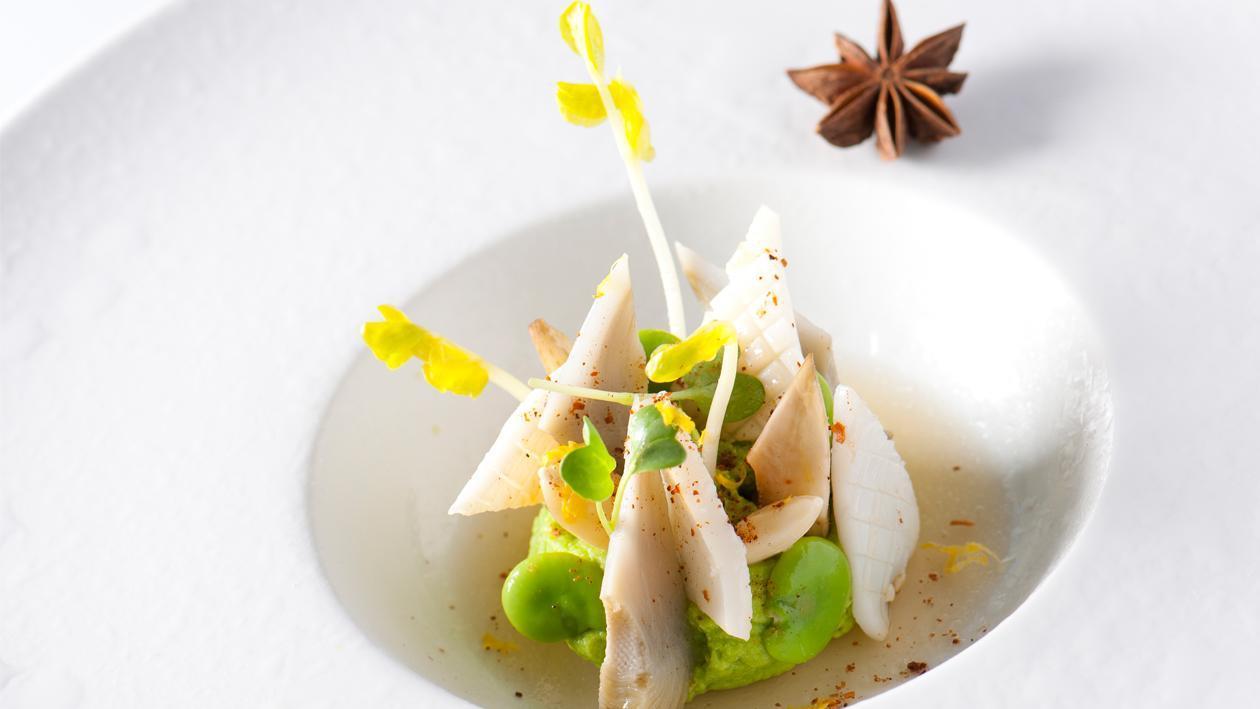 Printanière de calamars à l'anis par Bruno Oger** – Recette