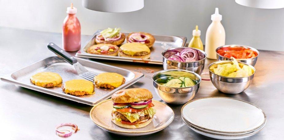 Summer vega cheeseburger – Recette