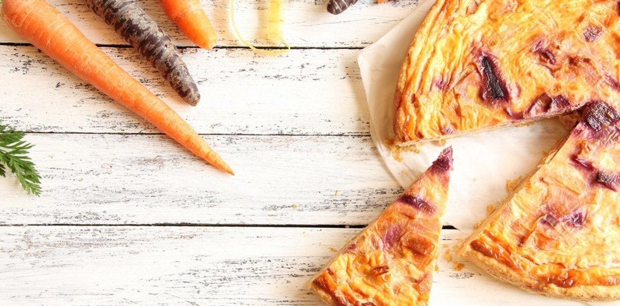 Tarte carottes et gingembre – Recette
