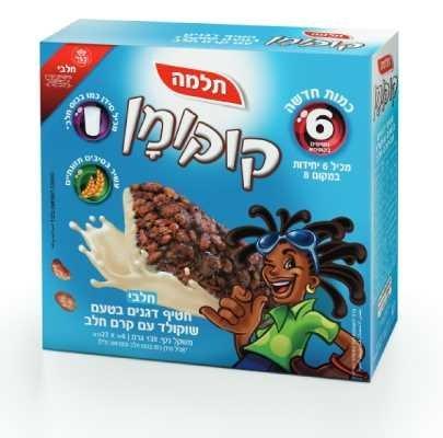חטיף קוקומן צדפים תלמה מאגדת 6 יח' -