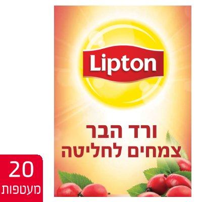 חליטת תה ורד הבר ליפטון 20 מעטפות -