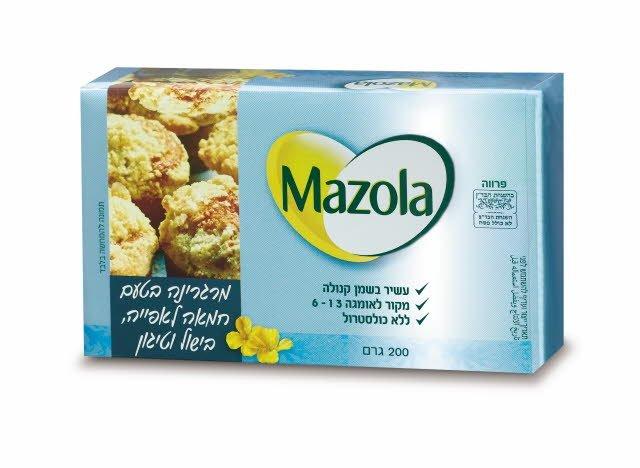 מרגרינה בטעם חמאה מזולה 200 גרם -