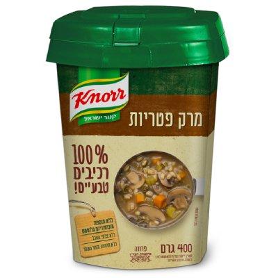 מרק פטריות 100% רכיבים טבעיים קנור קופסה 400 גרם | יוניליוור פודסולושיינס