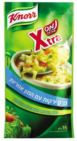 נמס בכוס מרק אקסטרה ירקות קנור