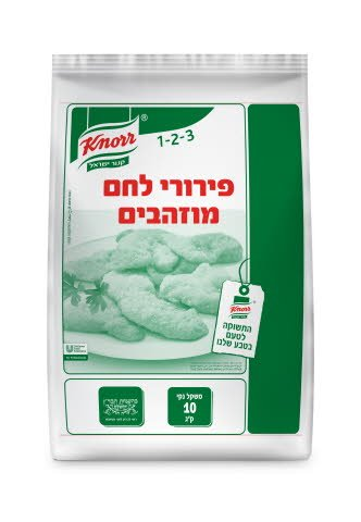 """פירורי לחם מוזהבים קנור 10 ק""""ג -"""