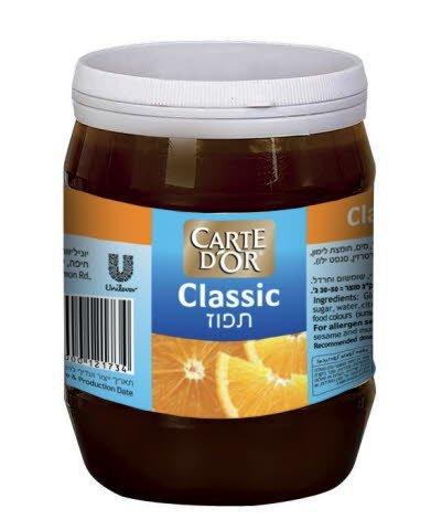 קלאסיק תפוז קארט דור צנצנת פלסטיק 900 גרם -