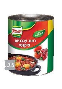 רוטב עגבניות פיקנטי קנור