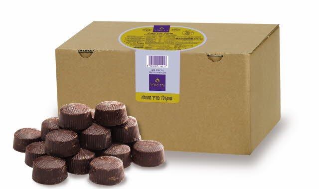 """שוקולד מריר 50% מוצקים ורד הגליל 5 ק""""ג"""