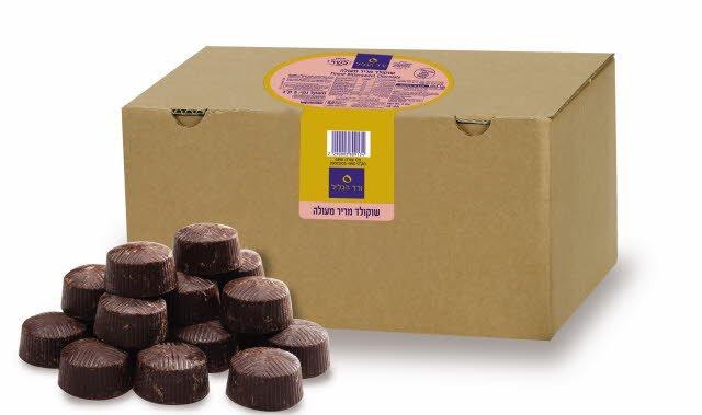 """שוקולד מריר 60% מוצקים ורד הגליל 5 ק""""ג"""