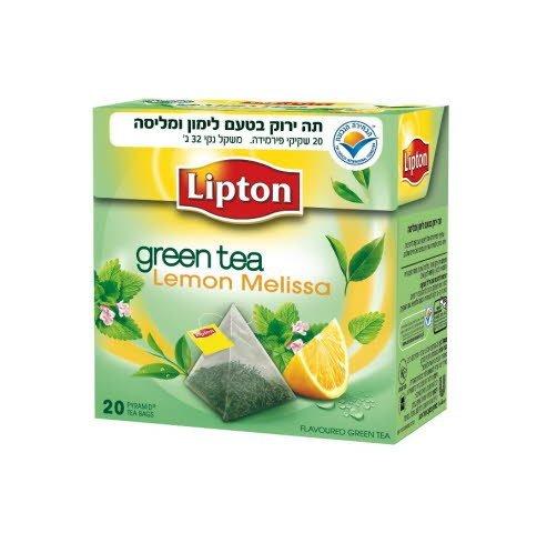 תה ירוק לימון מליסה ליפטון