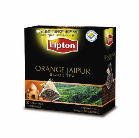 תה שחור תפוז ג'איפור ליפטון