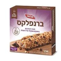 ברנפלקס חטיף דגנים עם צימוקים ושוקולד מריר מעולה תלמה - 6 יח'