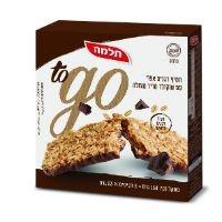 חטיף דגנים אפוי עם שוקולד מריר מעולה To Go תלמה 23 גרם