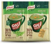 נמס בכוס מרק אפונה 100% רכיבים טבעיים קנור 24 גרם
